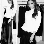 classic timeless formal outfit Victoria Beckham
