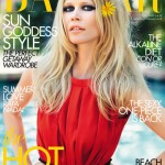 Claudia Schiffer Harper s Bazaar July 2011 cover
