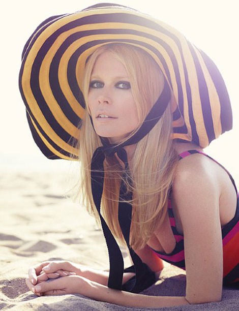 Claudia Schiffer's Harper's Bazaar UK July 2011