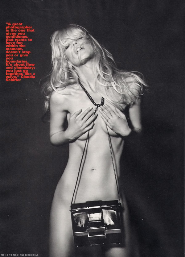 Claudia Schiffer iD Magazine Winter 2009 1