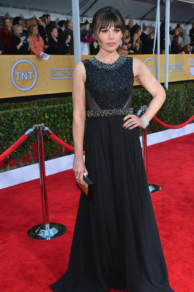 Clea DuVall black dress 2013 SAG Awards