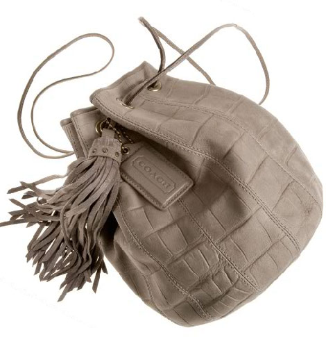 Coach Kelly drawstring pouch the glamourai
