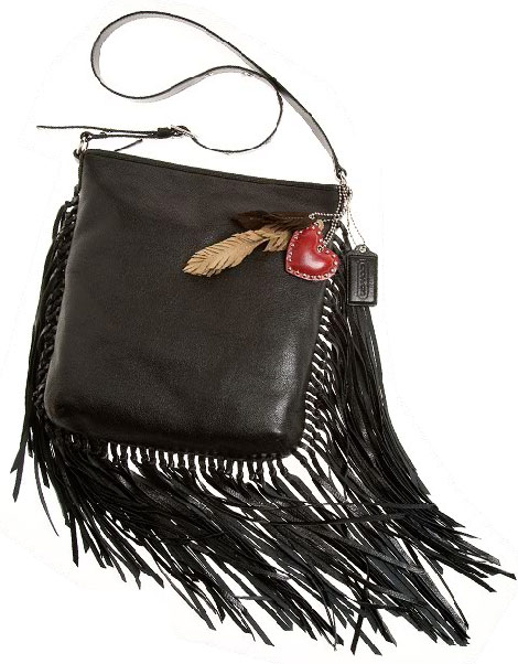 Coach Kristal fringe shoulder bag what is reality anyway
