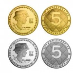 Coco Chanel 125 years anniversary Karl Lagerfeld coins
