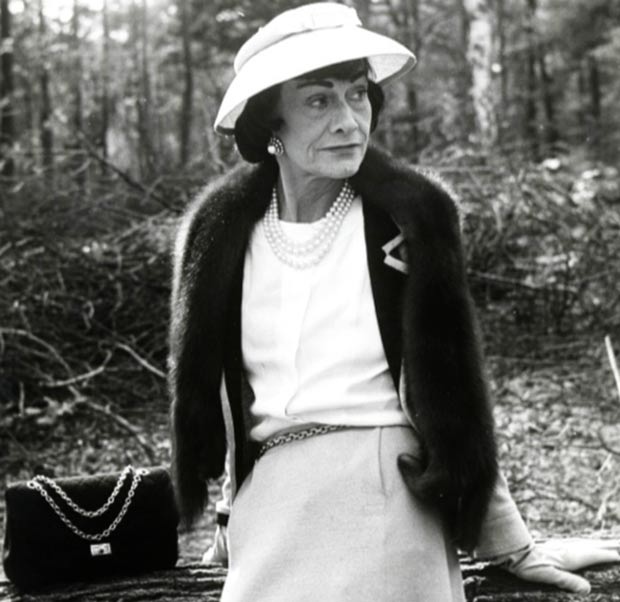 Image result for Coco Chanel as an old lady