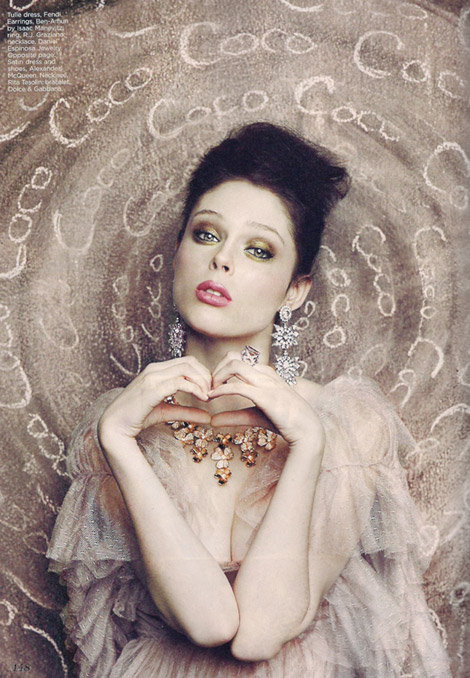Coco Rocha Flare Magazine April 2010