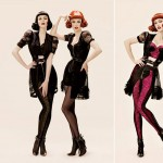 Coco Rocha Karen Elson PHI Fall Winter 2008 2009 Ads