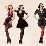 Coco Rocha Karen Elson PHI Fall Winter 2008 2009 Advertising campaign