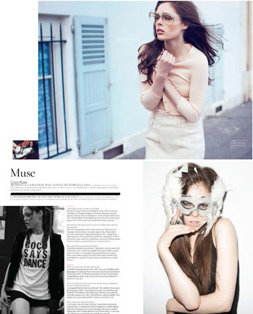 Coco Rocha Muse Magazine No13