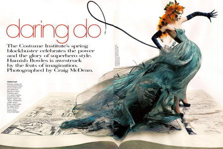 Coco Rocha Superhero Daring Do Vogue US May 2008