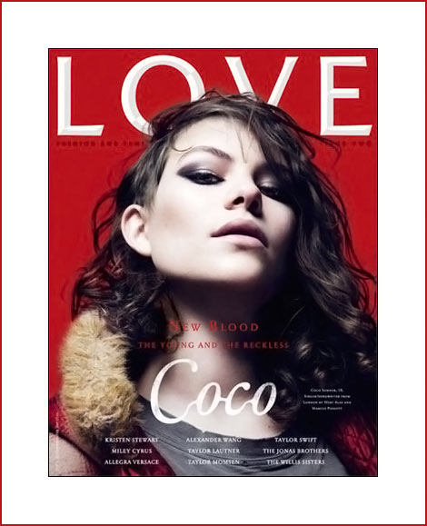 Coco Sumner Love Issue Two cover