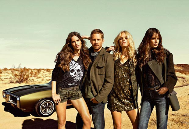 Colcci ad campaign Paul Walker