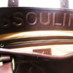 Cole Haan Assouline bag interior
