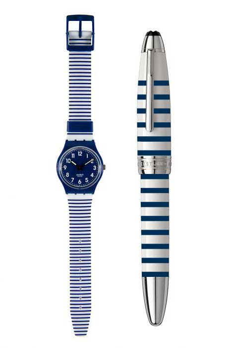 Colette Away Kit mariniere watch pen