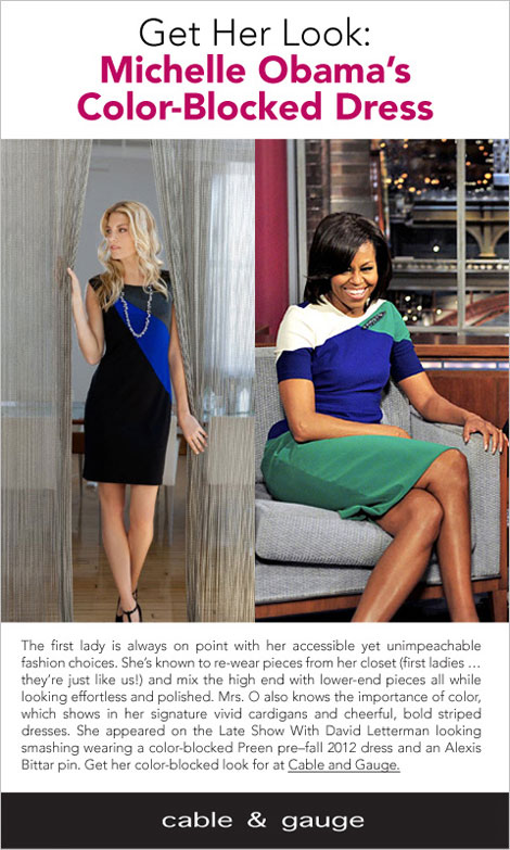 Mrs. O, You're My Style Hero!