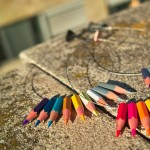 Colored Lapicitos necklace 4