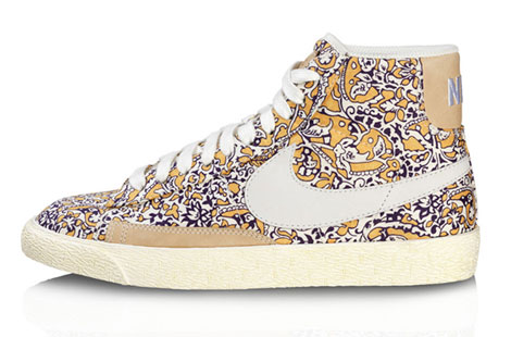 colorful Nike Liberty sneakers