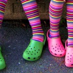 colorful crocs pinksherbet photography