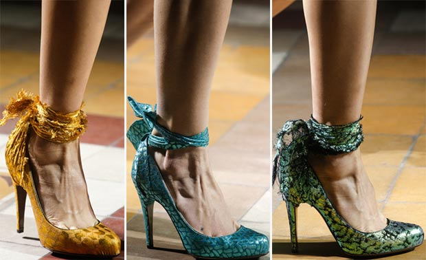 colorful shoes Spring Summer 2014 Lanvin
