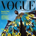 colorful Vogue Netherlands July 2013 cover