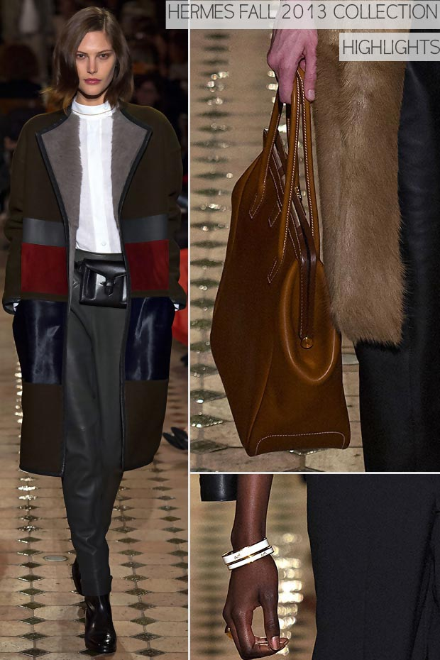 Mysteriously Feminine Fashion: Fall 2013 Hermes Collection