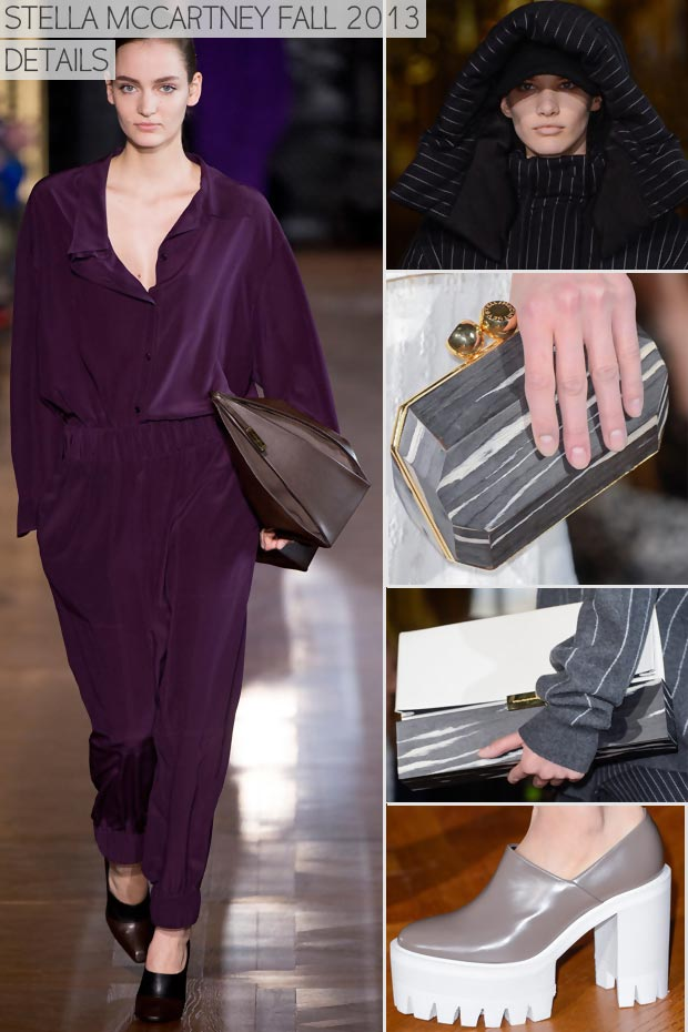 Oversized & Minimized Fashion: Fall 2013 Stella McCartney Collection
