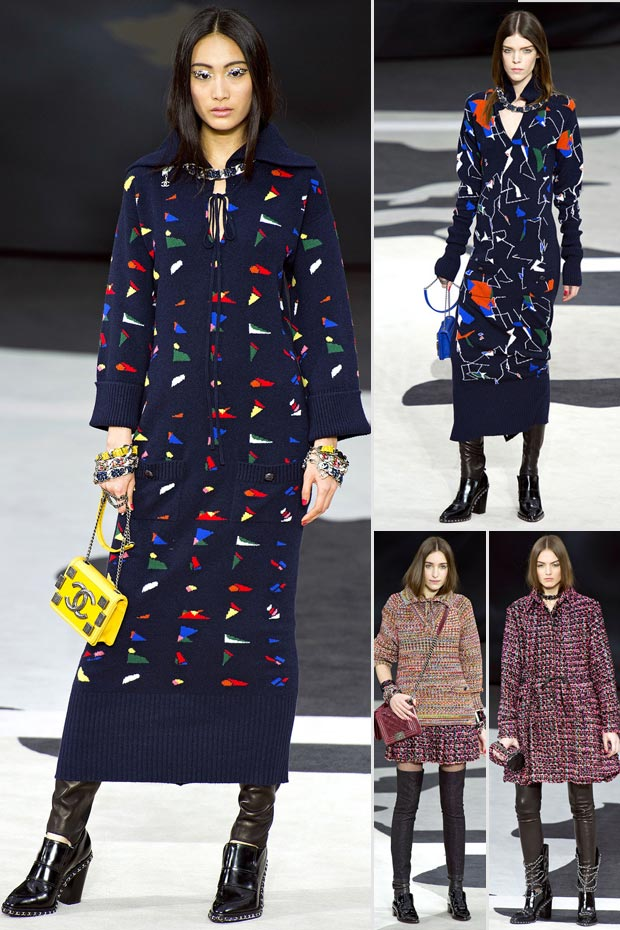 colors for Fall 2013 Chanel collection