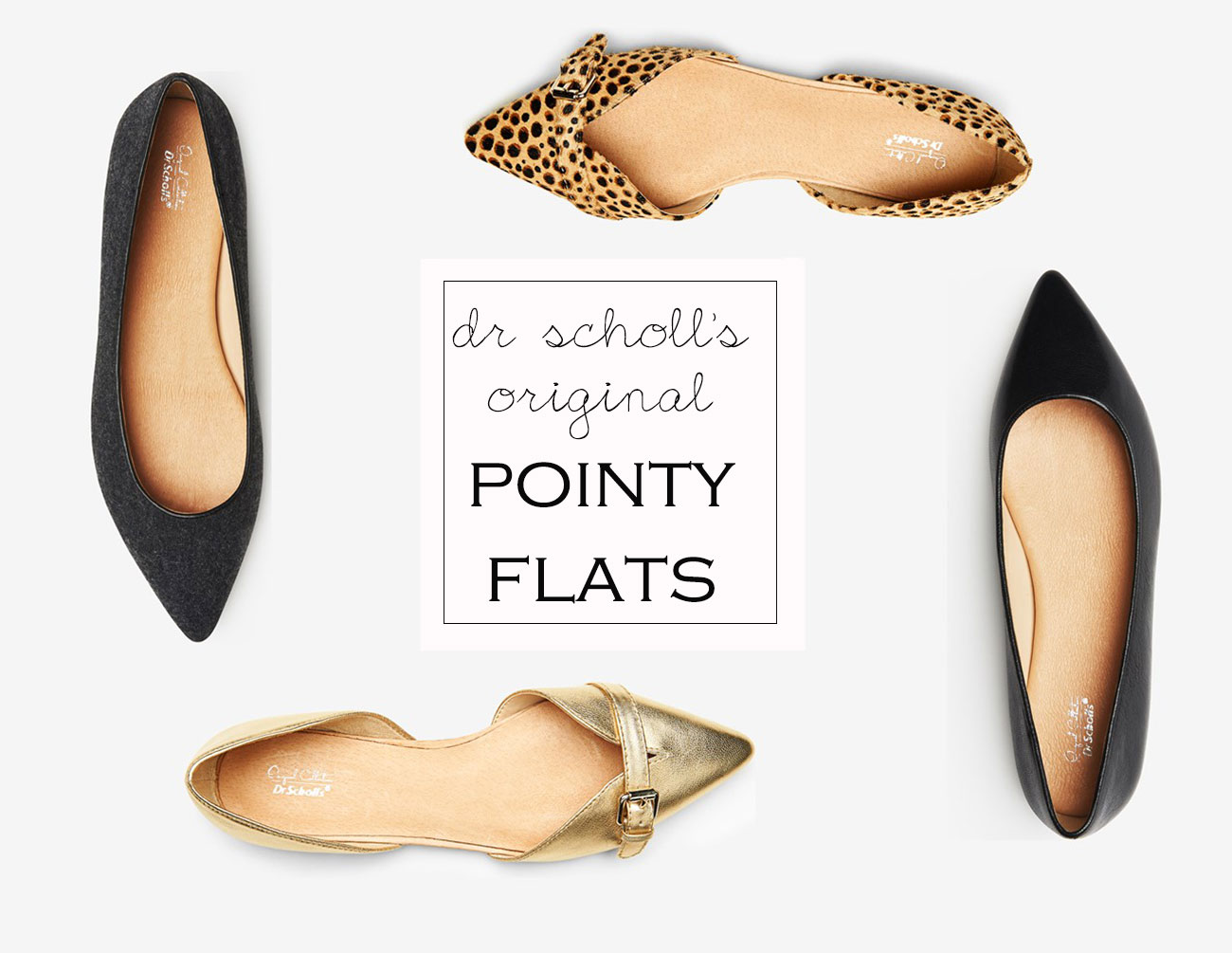 comfy fashionable pointy flats dr scholls original