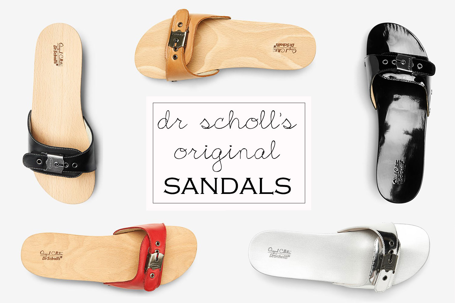 comfy fashionable wood soles sandals dr scholls