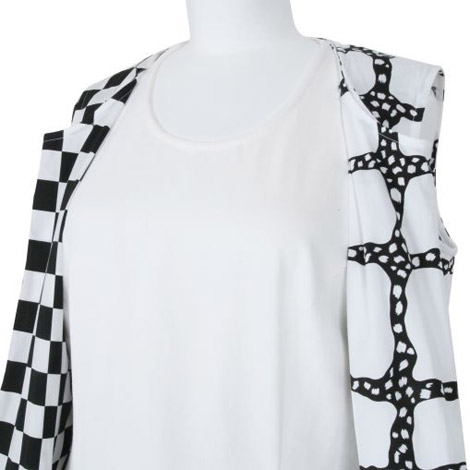 Black And White Comme Des Garcons Dress
