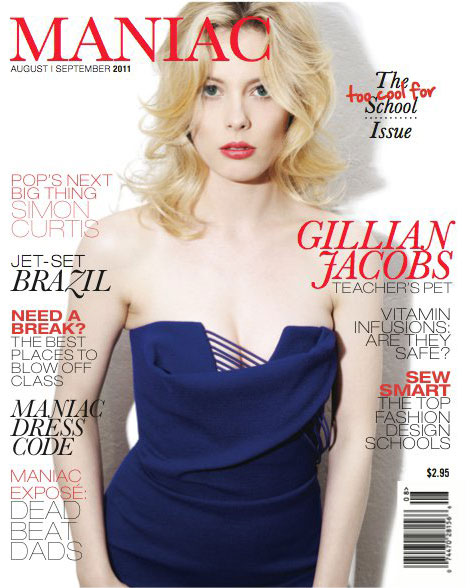 Community Britta Gillian Jacobs Magazine Cover Maniac