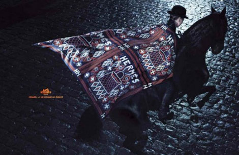 Constance Jablonski Hermes fall winter 2010 2011 ad campaign