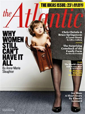 controversial magazine cover baby in bag