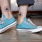 Converse all star ankle tattoos