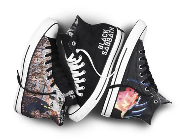 Converse Black Sabbath sneakers collection 2014