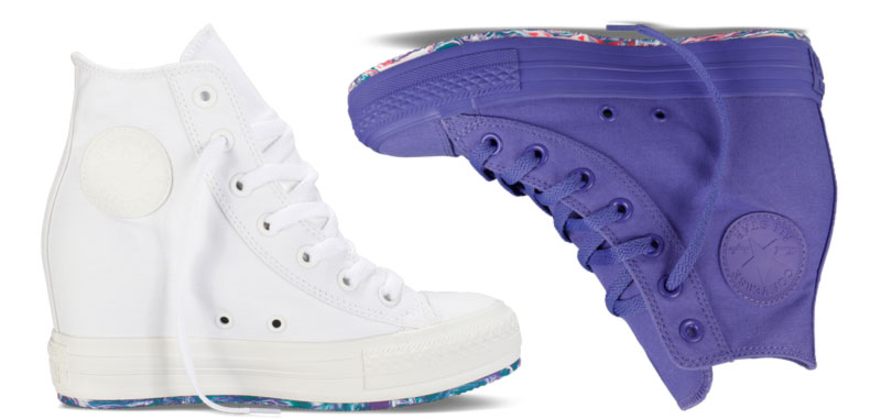 converse wedge heel sneakers