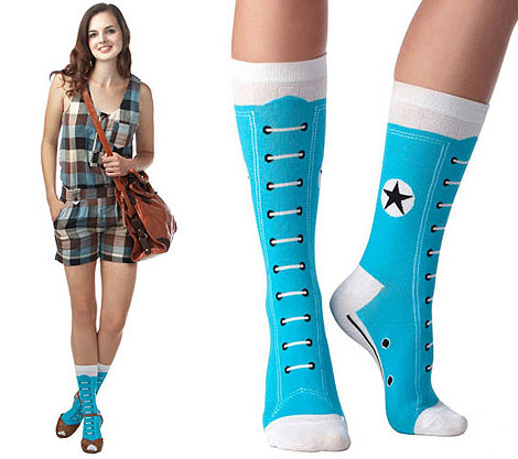 Converse Hi Top Socks