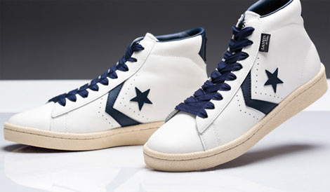 Lanvin Converse &#8220;en Bleu&#8221; &#8217;76 Leather