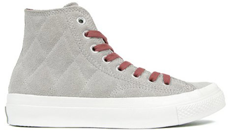 Converse Patta Lele grey quilted sneakers