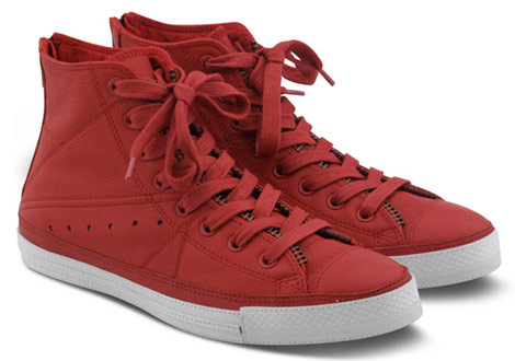 Converse productRed leather jacket Chuck Taylor