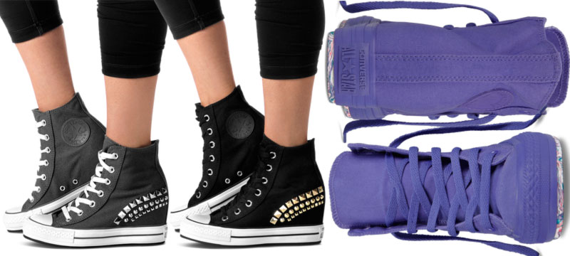 3b5b7926c33 Converse wedge sneakers Chuck Taylor - StyleFrizz