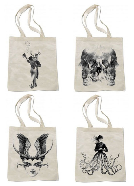 Cool and the Bag graphic bags