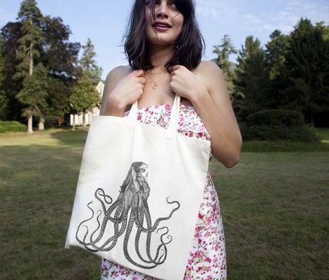 Cool and the Bag octopus bag