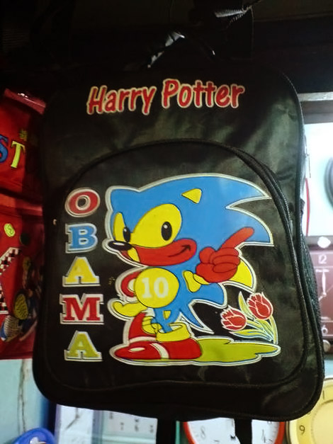 Counterfeit Harry Potter backpack