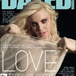 Courtney Love Dazed and Confused January 2010 cover