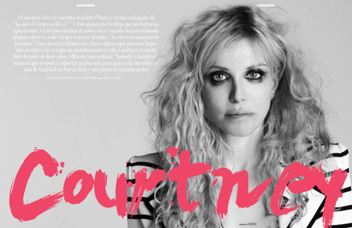 Courtney Love Vanidad Magazine May 2010 2