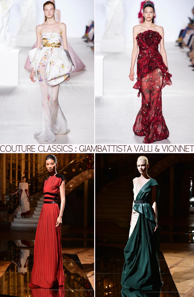 Couture Classics Giabattista Valli and Vionnet