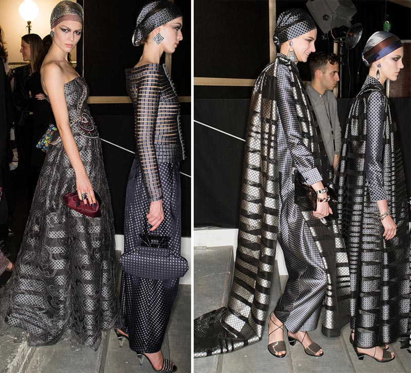 Couture Spring 2014 Armani Prive nomad fashion