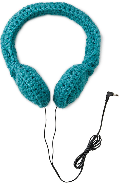 Crocheted headphones