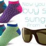 crocs socks sunglasses